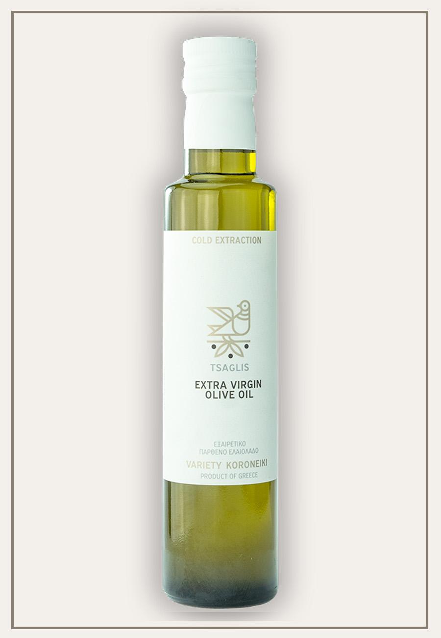 Tsaglis Extra Virgin Olive Oil - Kalamata - Bottle 250 ml - Zoom