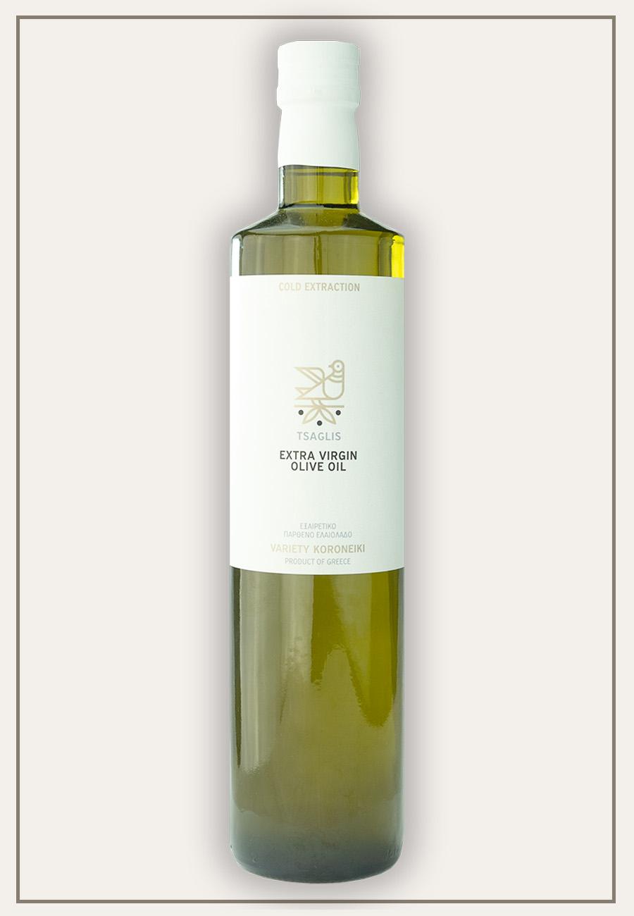 Tsaglis Extra Virgin Olive Oil - Kalamata - Bottle 750 ml