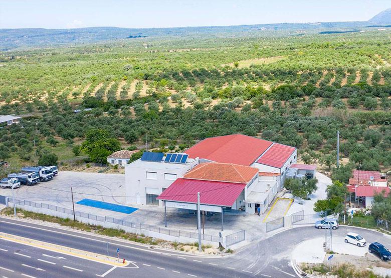 Tsaglis Extra Virgin Olive Oil - Kalamata - Production Unit