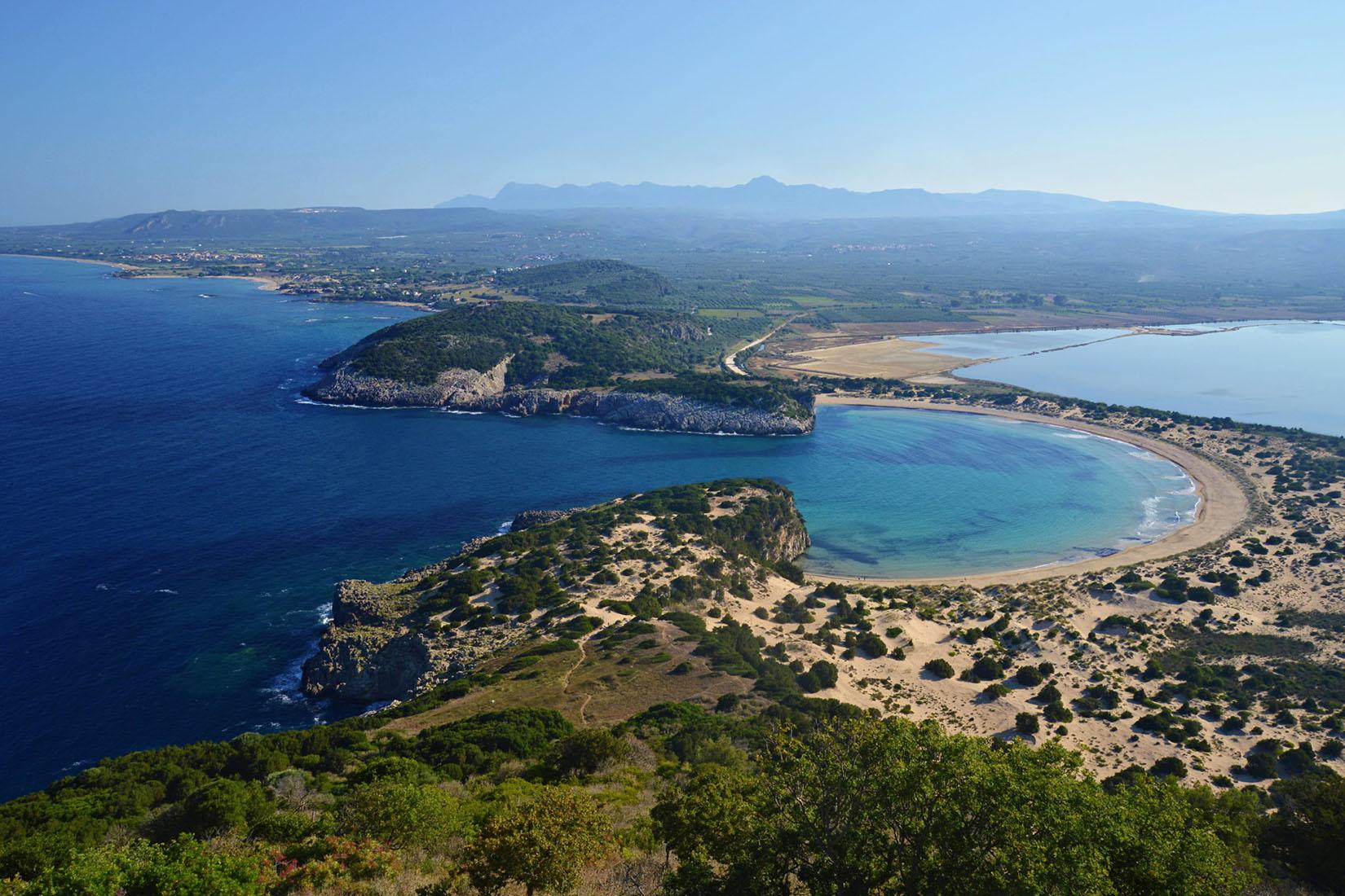 Tsaglis Extra Virgin Olive Oil - Kalamata Messinia - Voidokoilia Beach