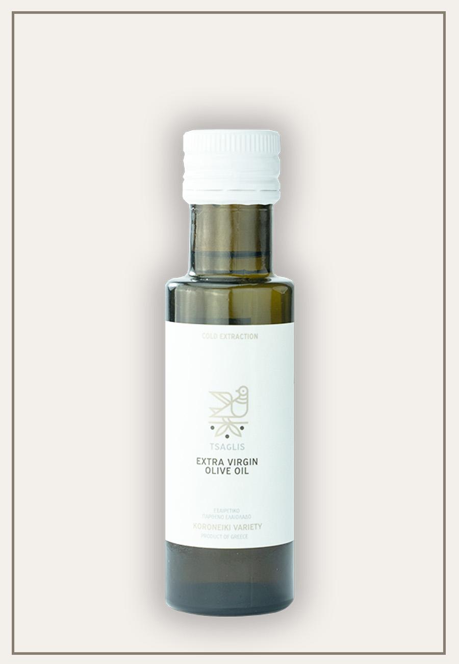 Tsaglis Extra Virgin Olive Oil - Kalamata - Bottle 100 ml