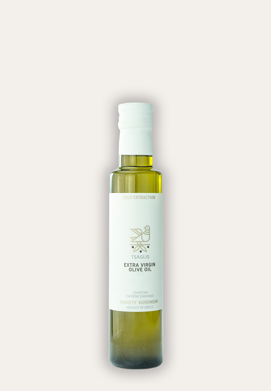 Tsaglis Extra Virgin Olive Oil - Kalamata - Bottle 250 ml