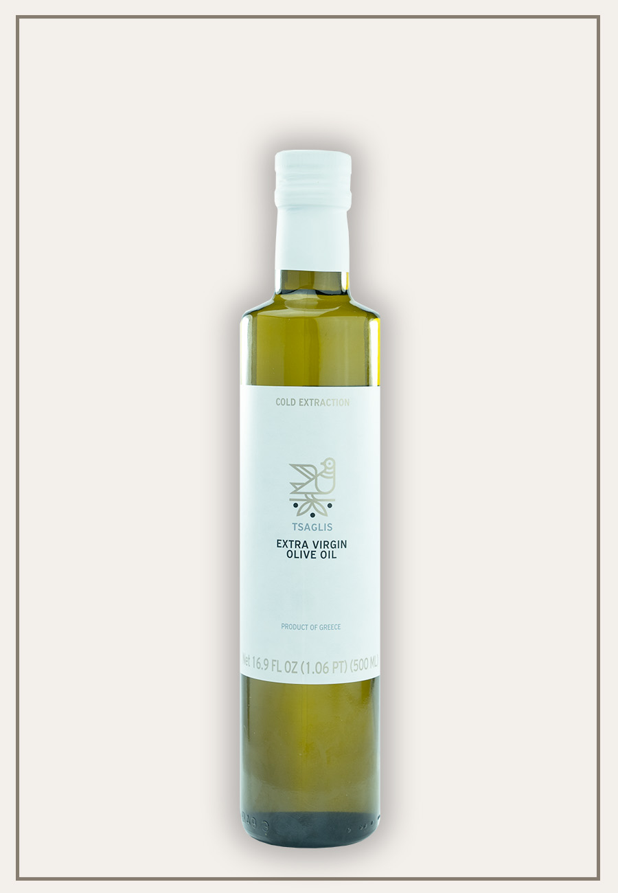 Tsaglis Extra Virgin Olive Oil - Kalamata - Bottle 500 ml