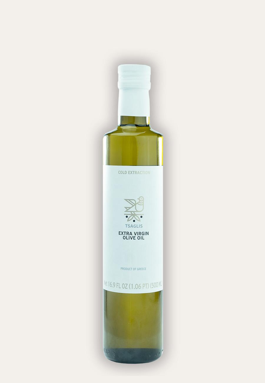 Tsaglis Extra Virgin Olive Oil – Kalamata – Bottle 500 ml