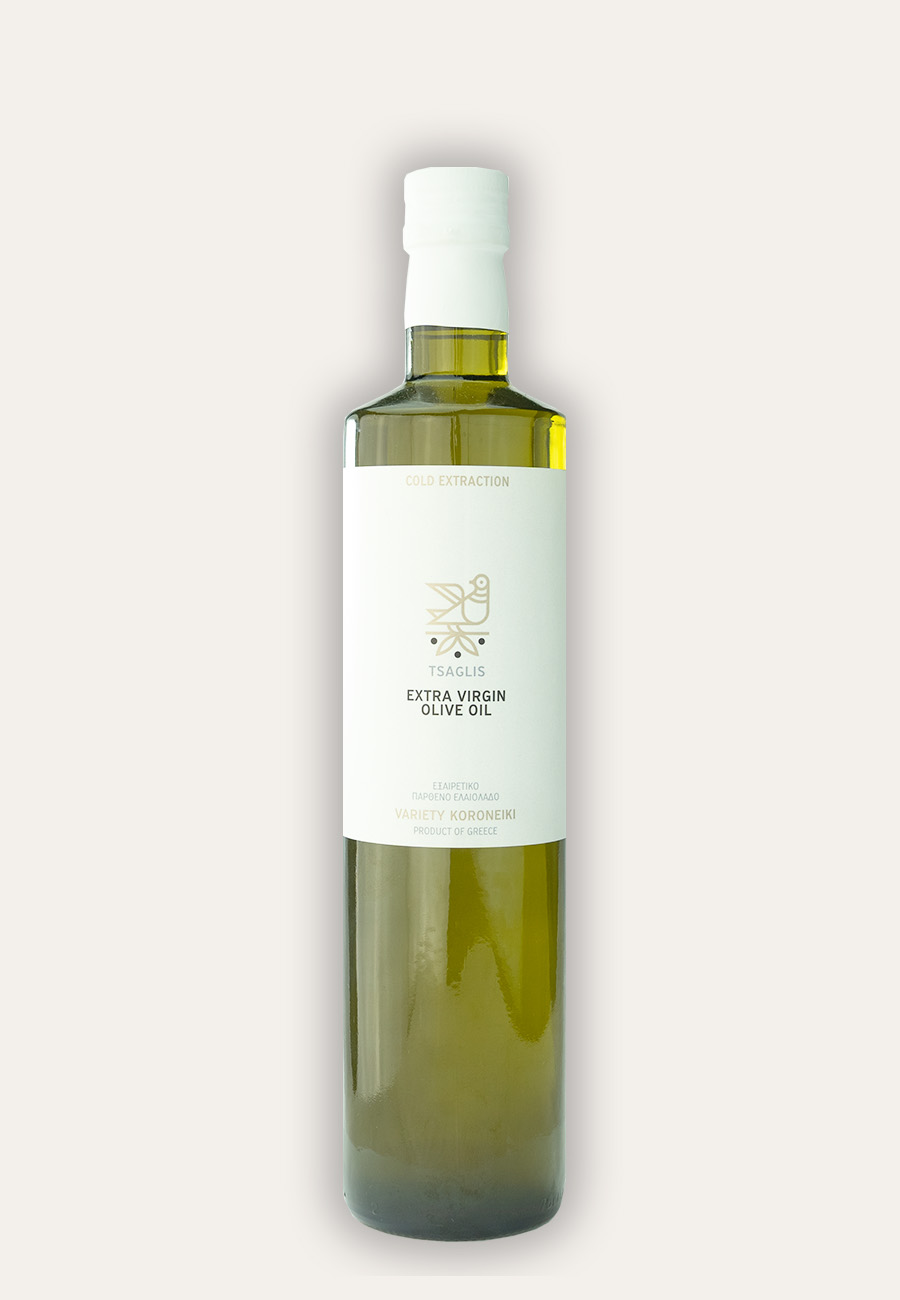 Tsaglis Extra Virgin Olive Oil - Kalamata - Bottle 750 ml