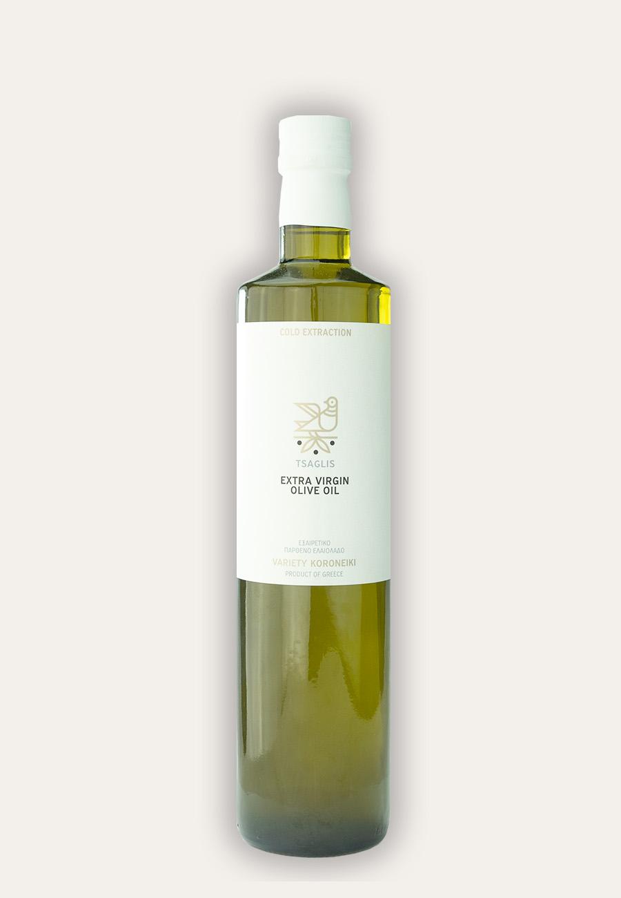 Tsaglis Extra Virgin Olive Oil – Kalamata – Bottle 750 ml