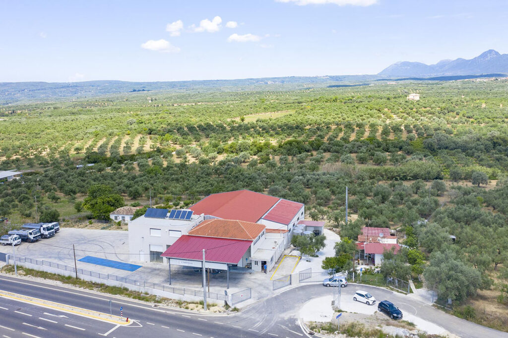 Tsaglis Extra Virgin Olive Oil - Kalamata - Messinia - Production Unit