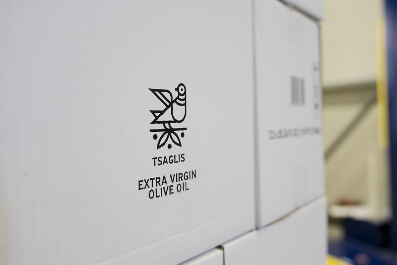 Tsaglis Extra Virgin Olive Oil - Kalamata - South Peloponnese - Production Unit - Packaging