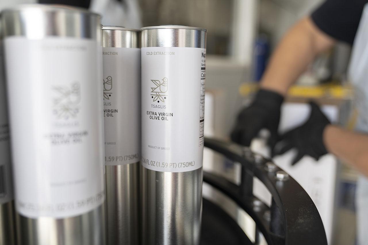 Tsaglis Extra Virgin Olive Oil - Kalamata - South Peloponnese - Production Unit