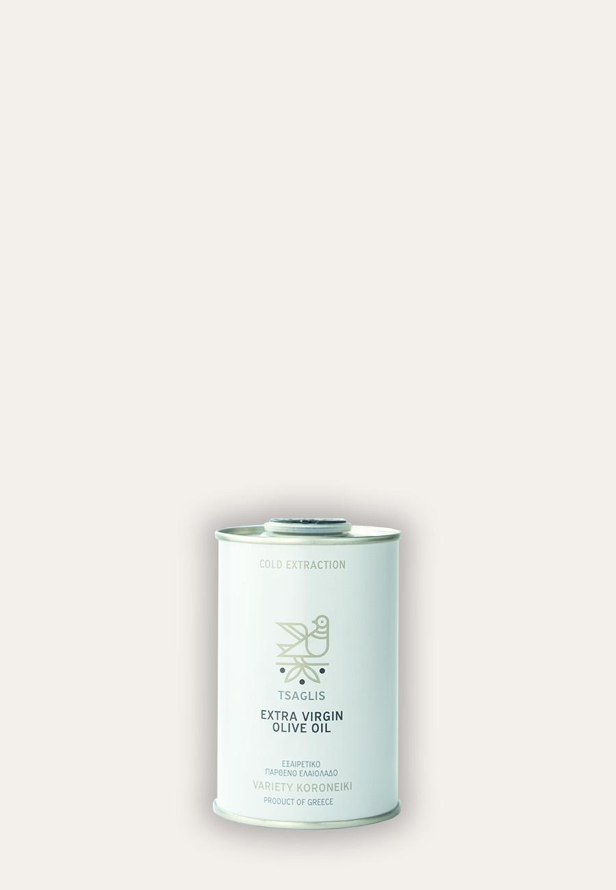 Tsaglis Extra Virgin Olive Oil – Kalamata – Tin 250 ml