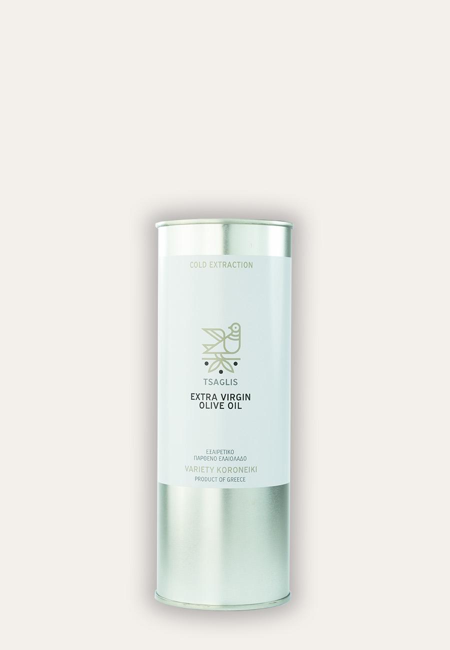 Tsaglis Extra Virgin Olive Oil – Kalamata – Tin 500 ml