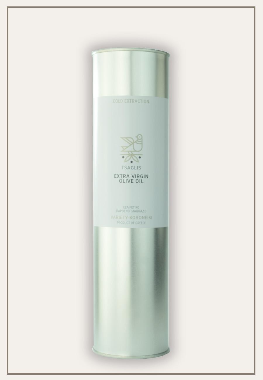 Tsaglis - Extra Virgin Olive Oil - Kalamata - Tin - 750 ml